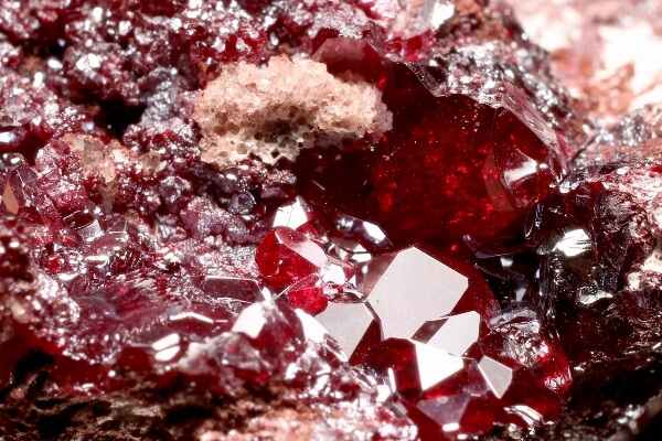 A large piece of raw Cuprite