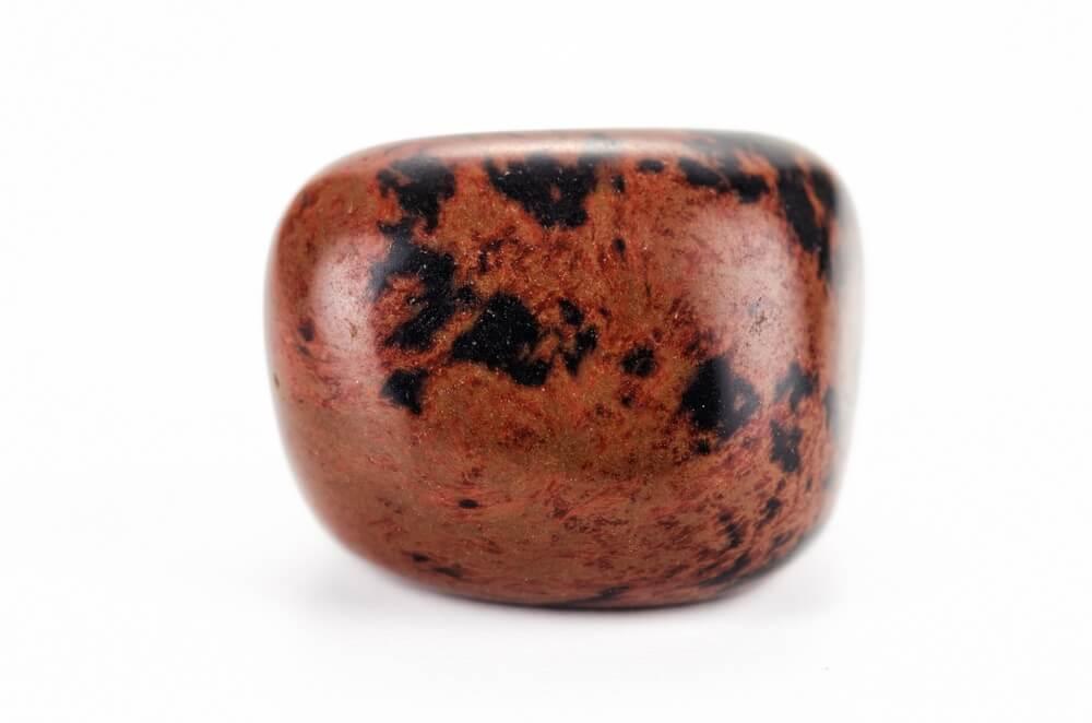 A Mahogany Obsidian stone for the root chakra