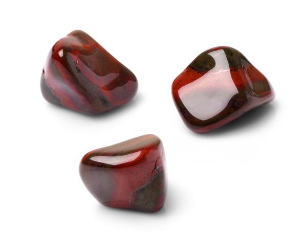Three Red Tiger's eye stones