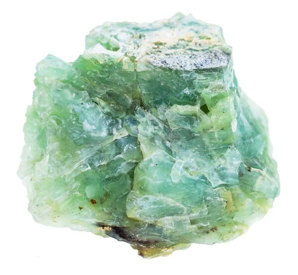 Green Opal containing a variety of uncovered properties