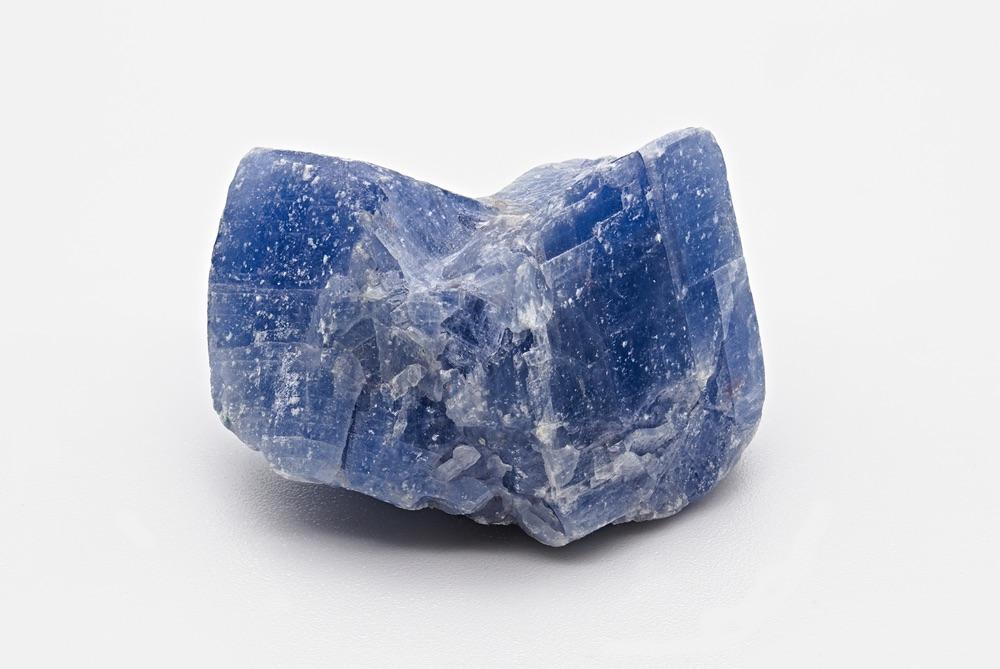 Single piece of Blue Calcite