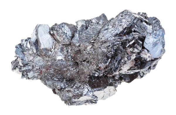 A shiny Hematite specimen