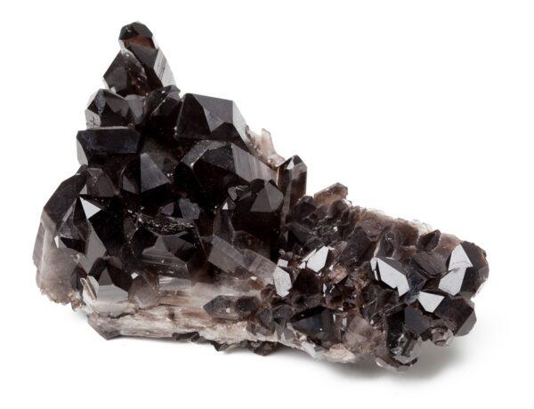 A large black crystal