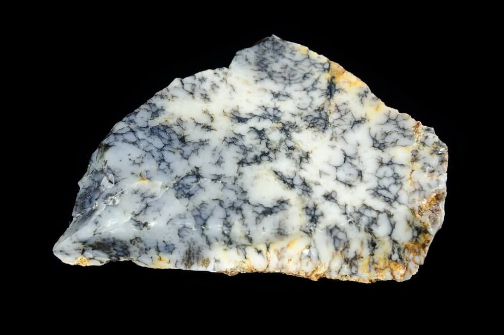 A large piece of Dendritic Opal
