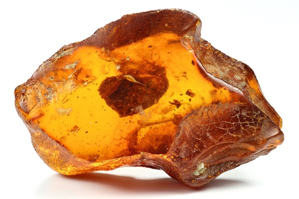 Jagged piece of Amber