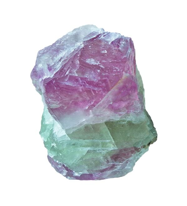 Fluorite with multiple layers