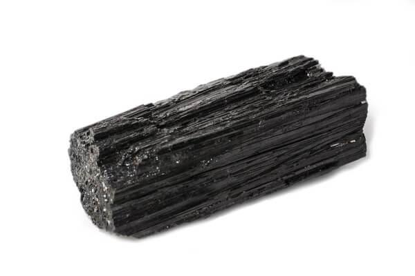A long Black Tourmaline stone