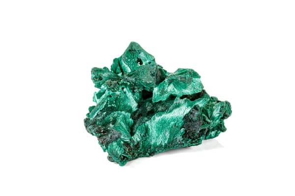 A green empath stone called Malachite