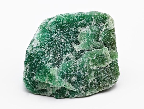 Rough piece of Green Aventurine