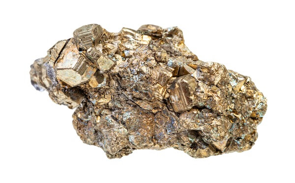 One rough piece of Pyrite