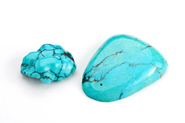 Two different size Turquoise stones