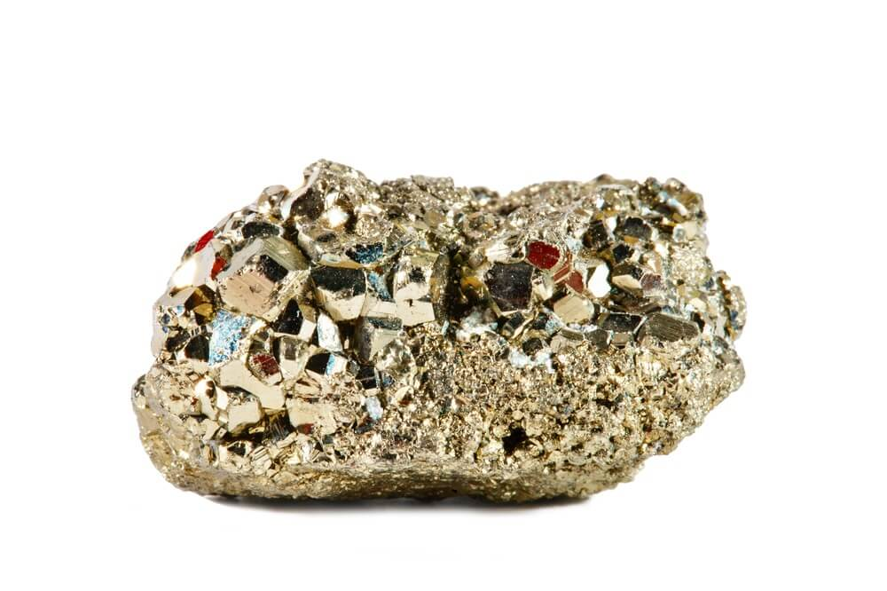 A beginner crystal called Pyrite