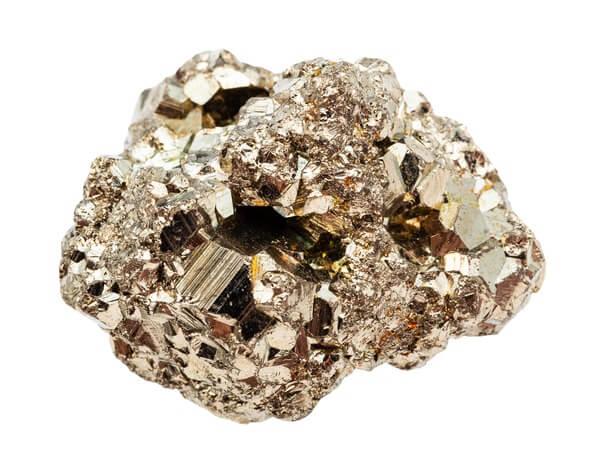 A chunk of Pyrite