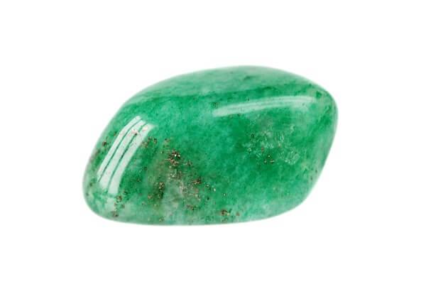 Clean piece of green aventurine