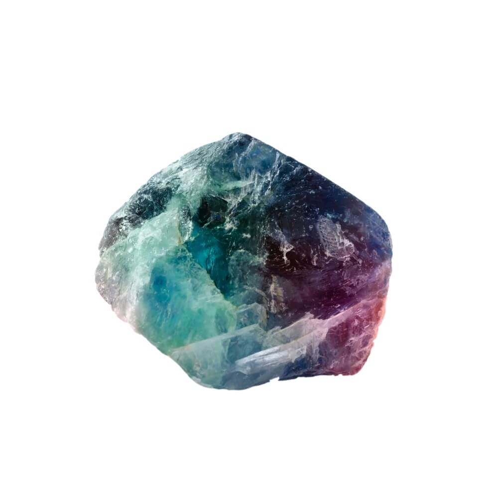 A Fluorite crystal for focus