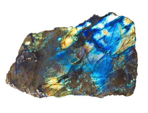 A large Labradorite crystal