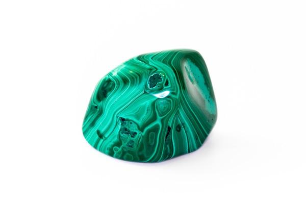 A colorful Malachite stone for Taurus
