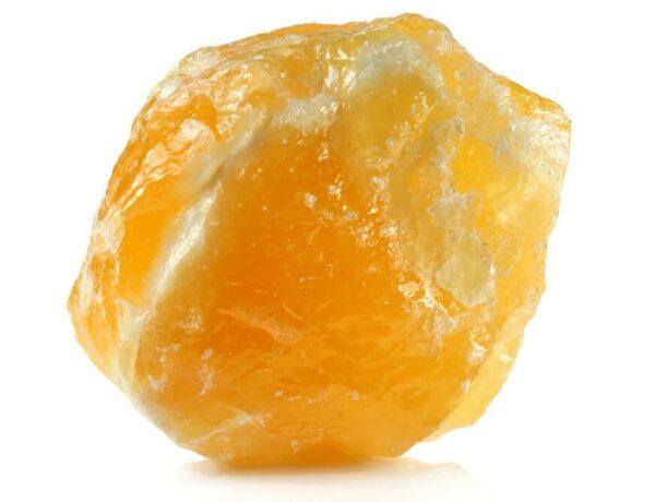 A piece of Orange Calcite