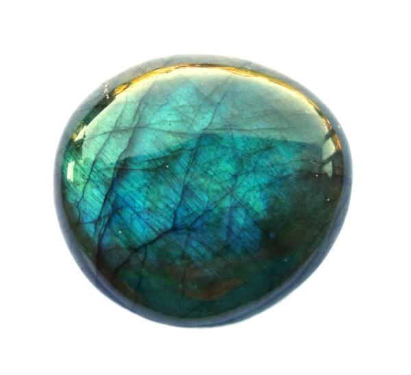 Polished piece of Labradorite