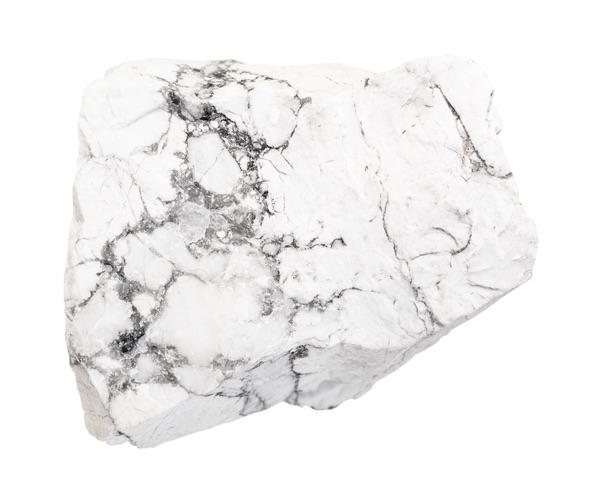One raw Howlite stone