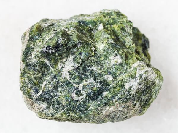 Large Serpentine Gemini stone