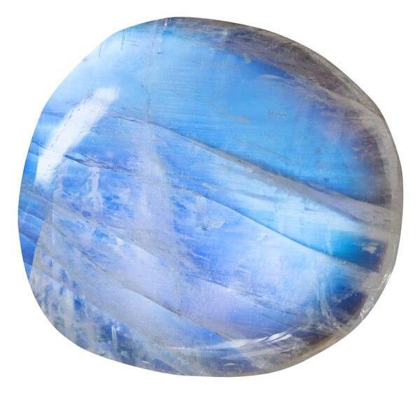 Slightly blue piece of Moonstone for Geminis