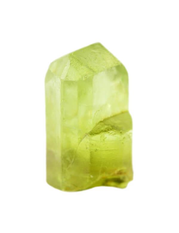 One thin Peridot stone