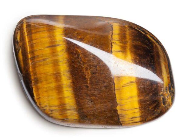 A shiny Tiger's Eye stone