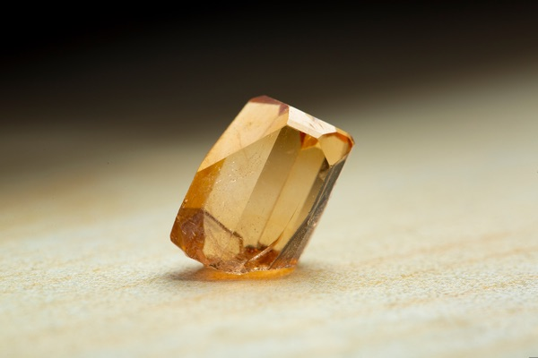 Yellow colored Topaz