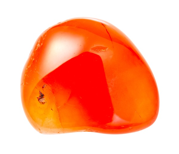 A round Carnelian stone
