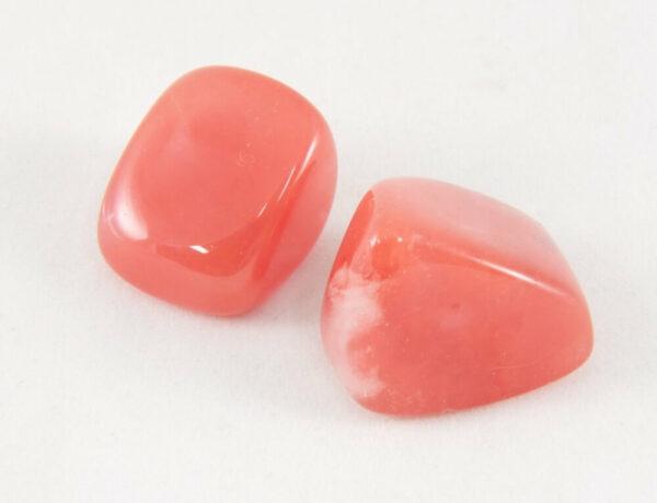 Two piece of Cherry Quartz