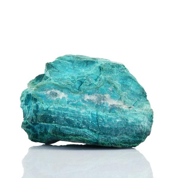 A large Chrysocolla Leo stone