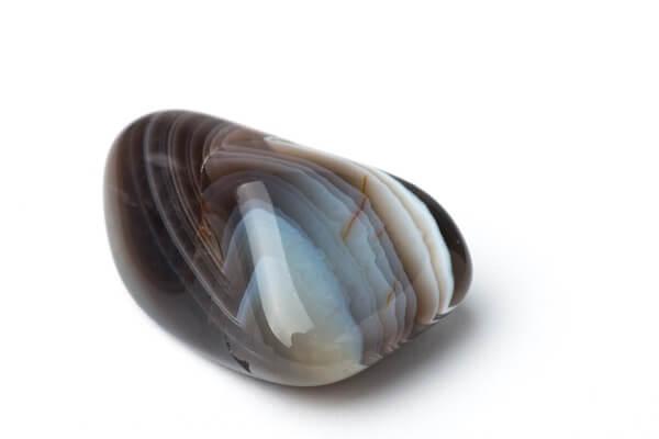 One darker Botswana Agate stone