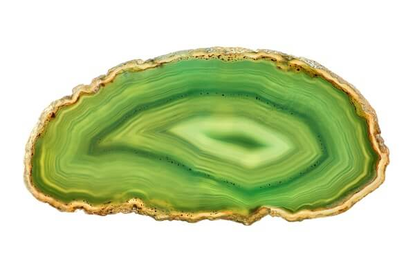 A piece of Green Agate