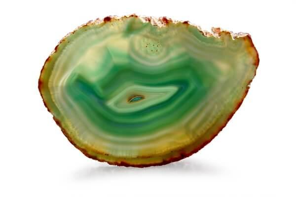 One clean slab of Green Agate