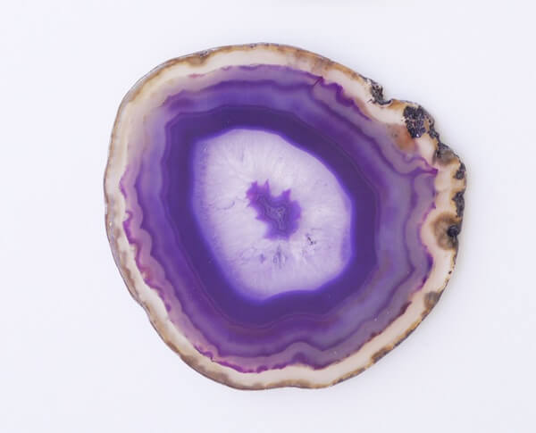 A piece of Purple Agate