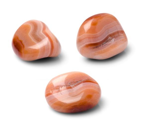 Three Sardonyx stones