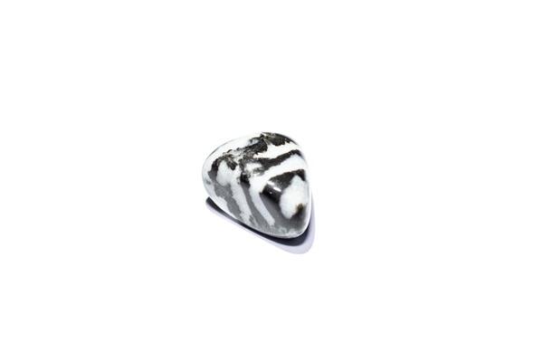 A small Zebra Jasper stone