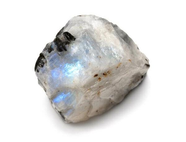 Raw piece of Rainbow Moonstone