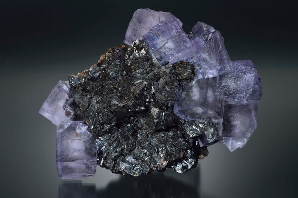 A large Sphalerite crystal