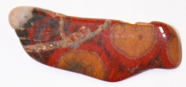 One long Poppy Jasper stone