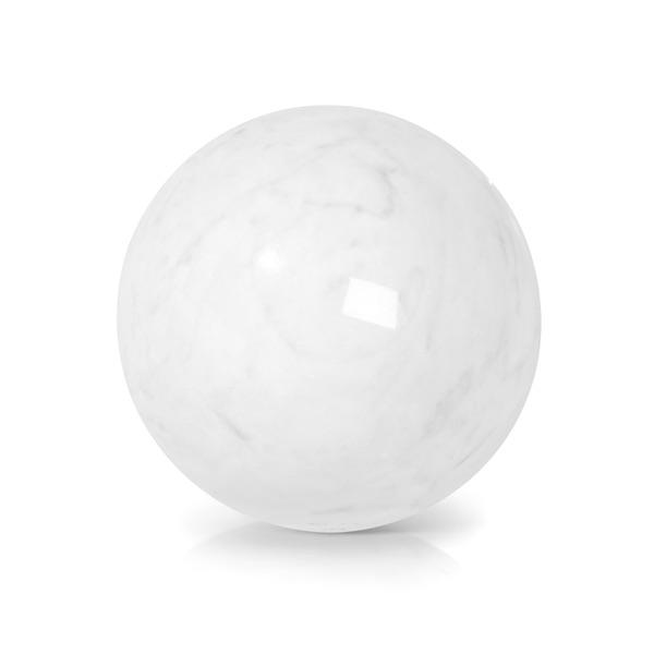 Polished White Jade stone