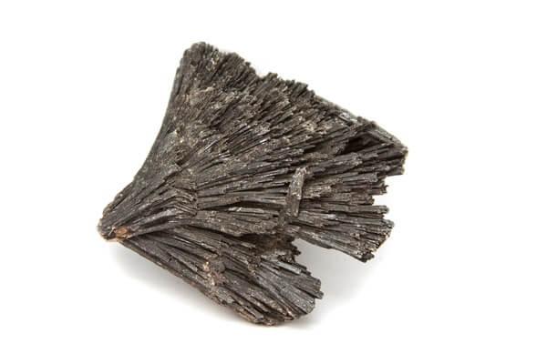 One large piece of Black Kyanite